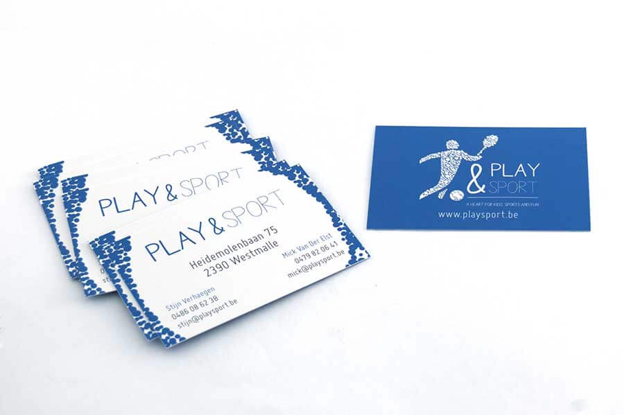Play&Sport Business Card